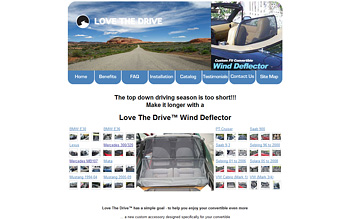 Love The Drive : Wind Deflector オフィシャルサイト