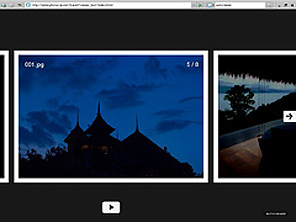 Picasa & AutoViewerを使ってFlashによるスライドショーをWebにアップする