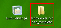 autoviewer_picasa_template フォルダ