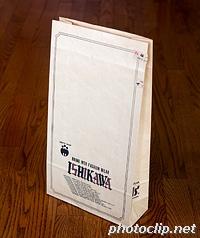 ISHIKAWAの紙袋