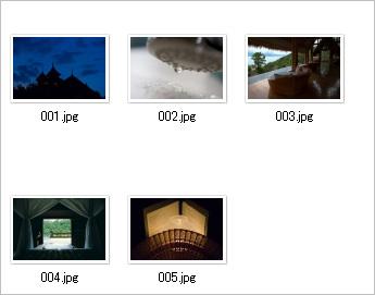 images フォルダに入れる写真