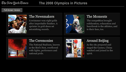The New York Times ::: The 2008 Olympics in Pictures