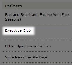 Executive Club というパッケージ