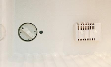 Electrolux の温度設定ダイアル