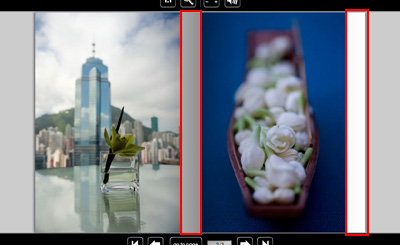 Flash Page Flip Gallery縦型は横型とは違う不具合
