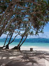 Amanpuloの碧い海