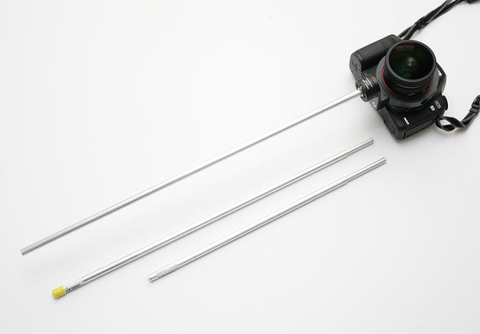 手持ちパノラマ撮影用に棒を自作した