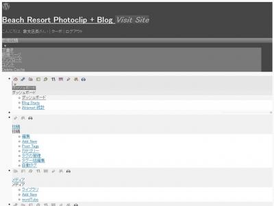ファーストサーバでWordPressを2.7から2.8にすると管理画面が気絶