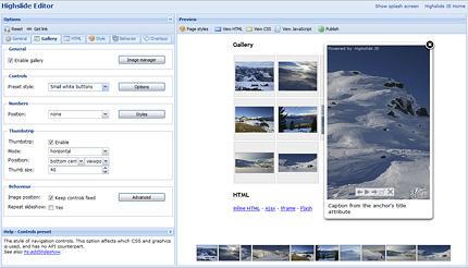 Highslide JSのHighslide Editorはすごく便利