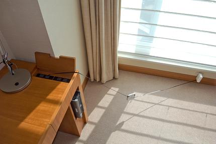 AirMac Express :「ホテルアソシア新横浜」の場合