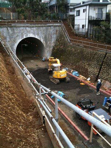 東横線、横浜駅〜反町駅間にあったトンネルは今