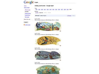 Google Logos: 見ていて楽しい