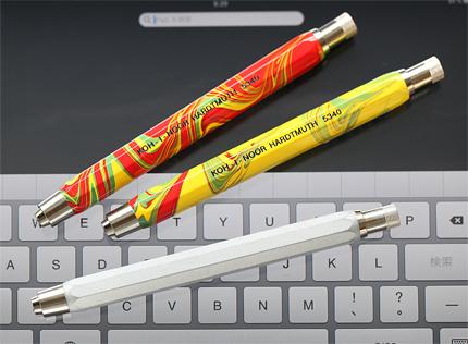 KOH-I-NOORマーブルの塗装を剥がしてワンオフiPad & iPhone用スタイラス