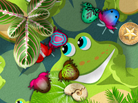 iPhone App :: Pocket Frogs