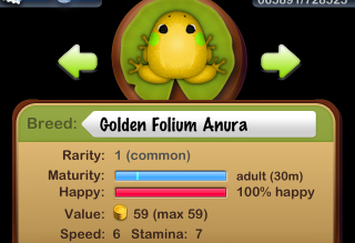 Golden Folium Anura 誕生