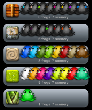iPhoneアプリ: Pocket Frogs、なんちゃって交配システム構築中