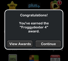 Awards: Froggydexter 4