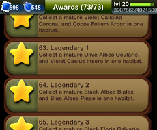Pocket Frogs Awards