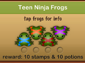 Pocket Frogs、今週のSet (サーバ移転後のテスト投稿をかねて)