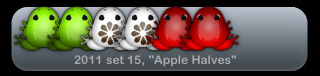 2011 set 15, Apple Halves