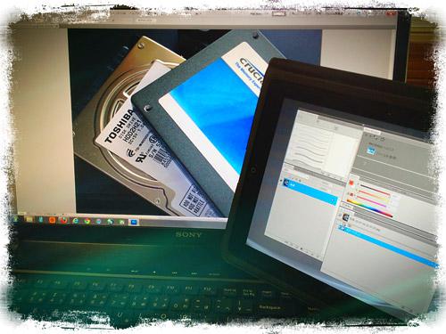 WindowsのサブディスプレイになったiPad