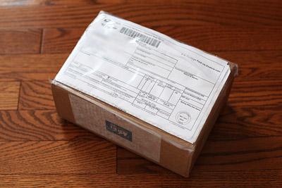 Garmin Forerunner 210がREI.com(米国)から届いた