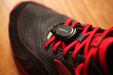 GARMIN Foot Pod & New Balance MR10