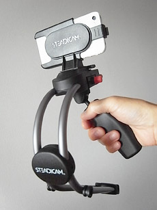 iPhone 4用ステディカム [Steadicam Smoothee]