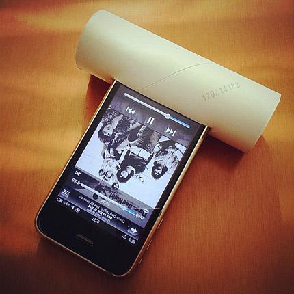 紙ゴミで作ってみた電源不要のiPhone用スピーカー[まとめ]