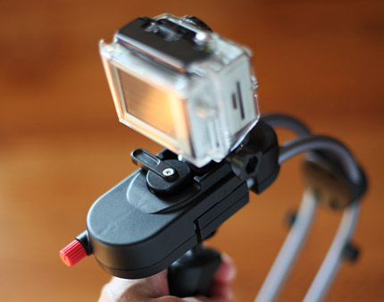 GoPro HD HERO2 & Steadicam Smoothee for iPhone