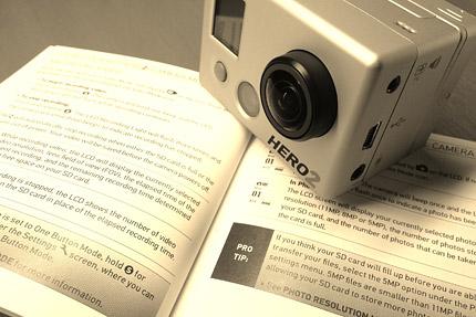 [GoPro HD HERO2]日本語マニュアル(PDF)はオフィシャルサイトにあった