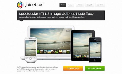 Juicebox – SimpleViewerと見た目ほぼ一緒のHTML5 Image Gallery