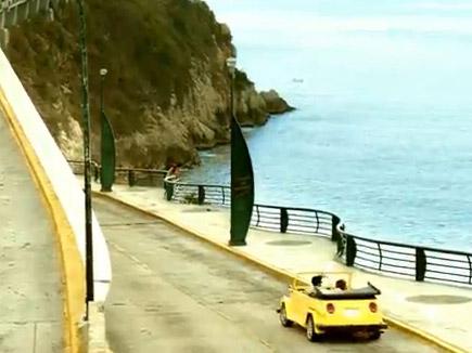 「太陽のマテ茶」のTVCMに出てくる黄色いオープンカーは何だ?