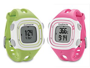 GarminのGPS Running Watch新作 – Garmin Forerunner 10、軽くてカラフル