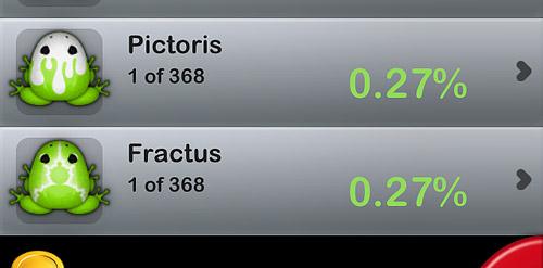 「Pocket Frogs 2.0」さっそくですが、新種二種
