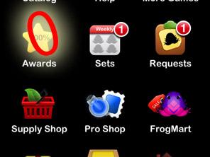Pocket Frogs 2.0へのバージョンアップ、バグ(アップデート不具合)報告をいただきました