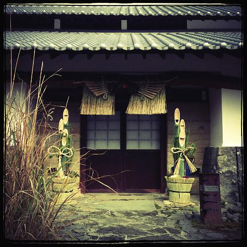 日本家屋のお正月