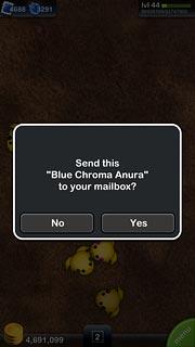 あらっ?Blue Chroma Anuraももらえるの?ラッキー