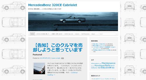 MercedesBenz 320CE Cabriolet