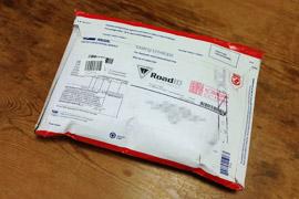 日本郵便のレターパックみたいな梱包