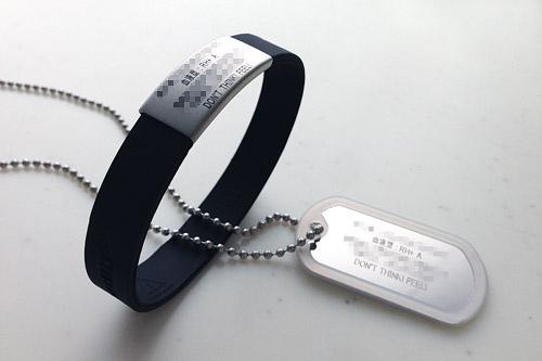 「もしも」のときのために。米国からRoad IDのthe Wrist ID Slimが届いた