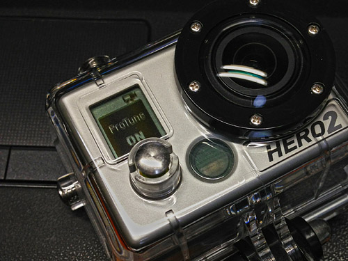 [GoPro HERO2] ファームウェアをアップデートするとHERO2でもProtuneが使えます