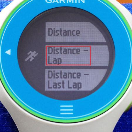 Distance - Lap