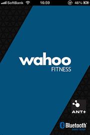 Wahoo Fitnessを起動