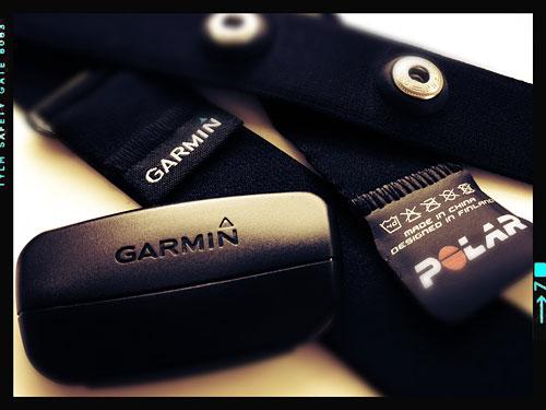 GarminのHRMストラップとPOLARのストラップは「互換性アリ」との情報