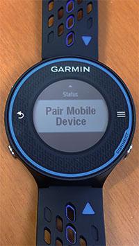 Pair Mobile Deviceの画面を出す