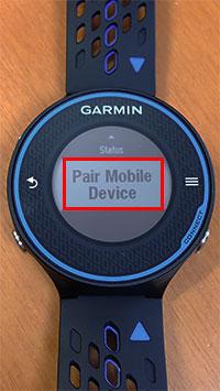 ここで「Pair Mobile Device」をタップ