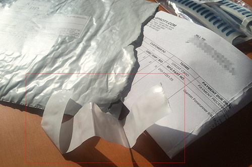 封をする際はがした剥離紙を入れるのがマナー!! あははは