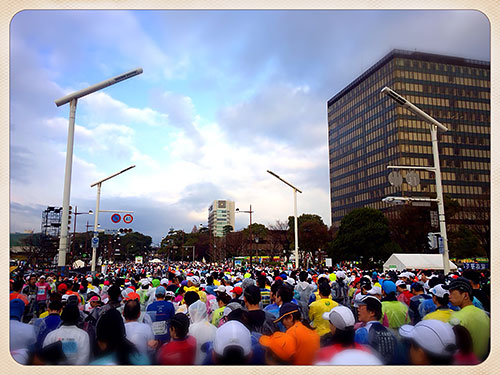 フルマラソン8回目 (北九州マラソン2014)