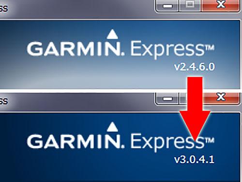 Garmin Expressのアップデートが止まらない(笑)